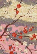 "Yuzen 4443, Cherry Blossoms, 19"" x 25"""