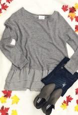 Sweater & Ruffle