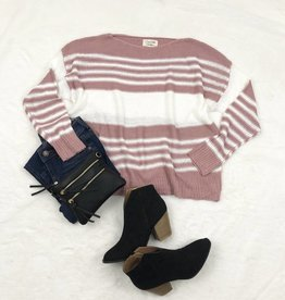Pink Envy Sweater