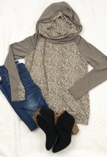Muted Leopard Hoodie