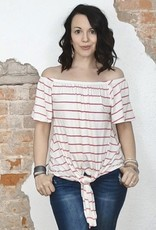 Off The Shoulder Stripe