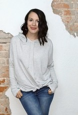 The Pin Striped Hoodie Curvy