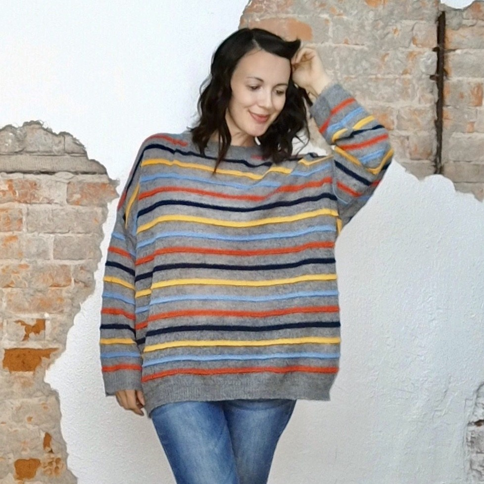 Oversized Stripe