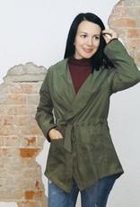 Olive Fall Dressy Jacket