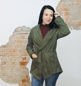 Olive Fall Dressy Jacket