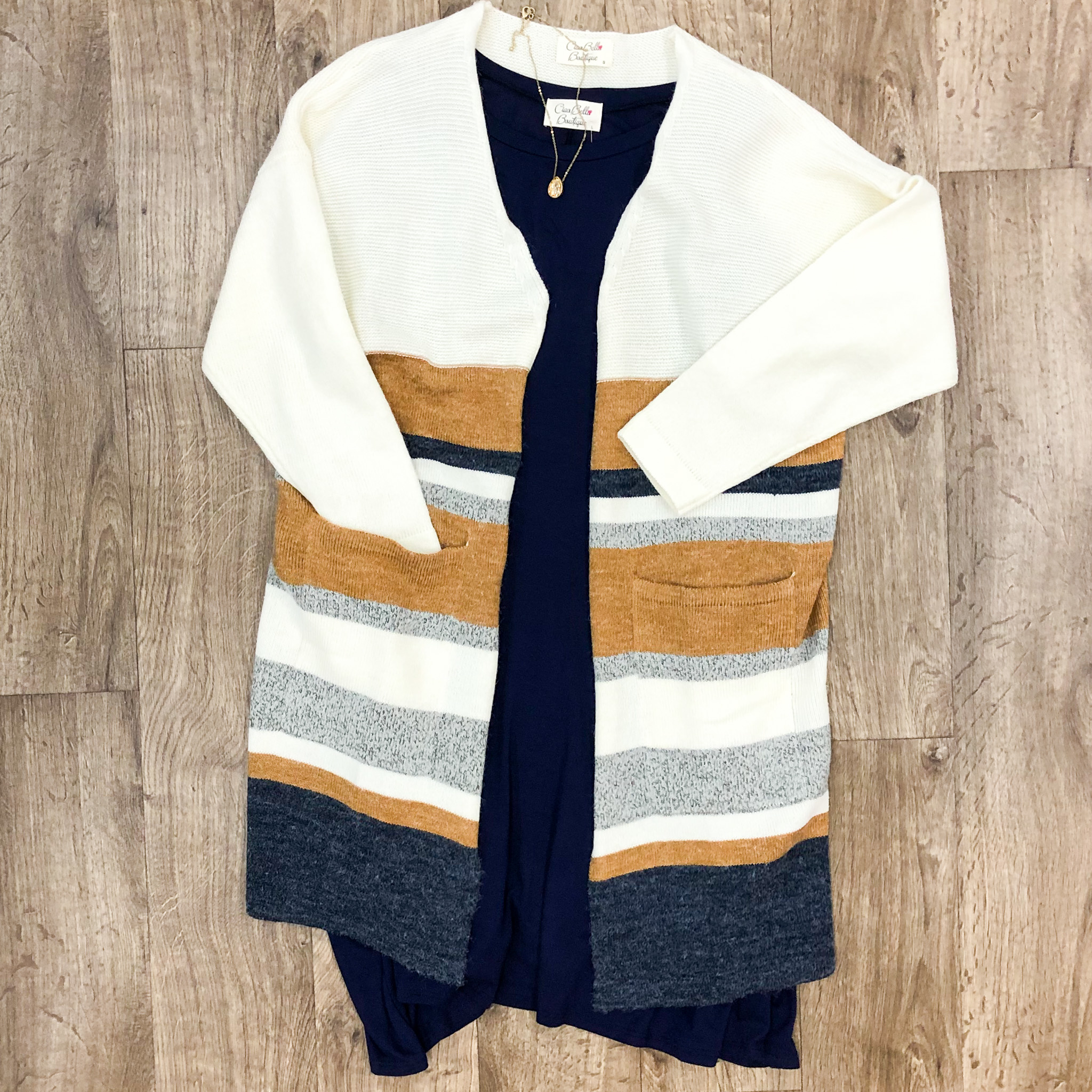 The Perfect Striped Cardi