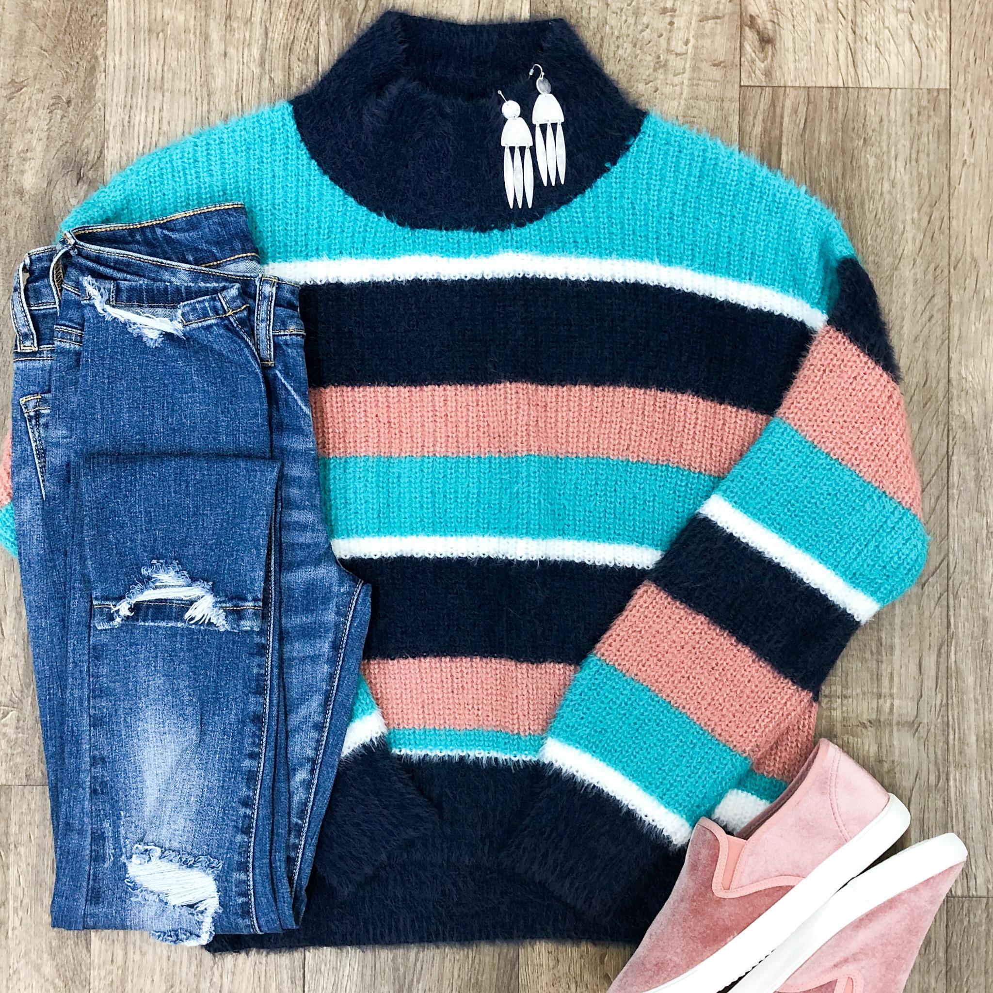 Blue Skies Sweater