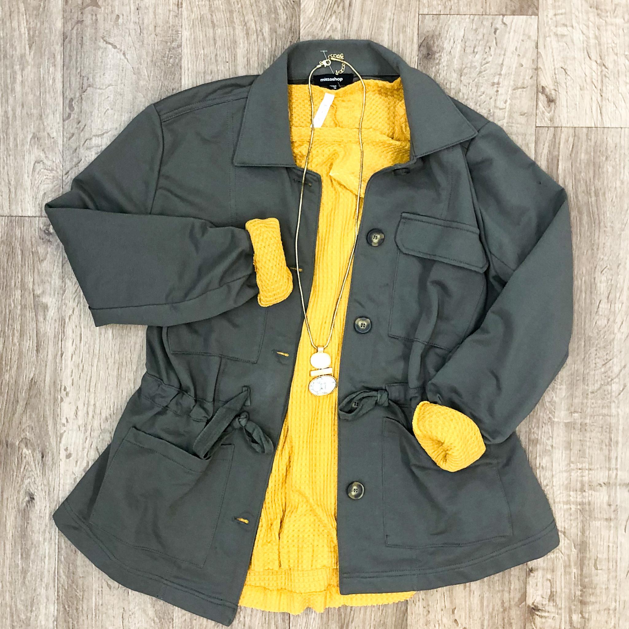 Olive It Utility Jacket