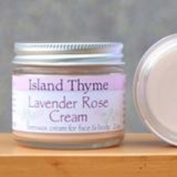 Island Thyme Lavender Rose Cream 2oz