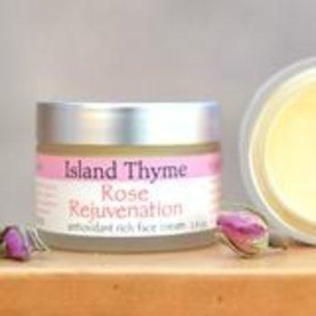 Island Thyme Rose Rejuvenation Face Cream