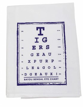 Tiger Eye Chart Tea Towel
