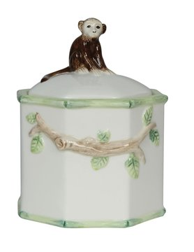 Monkey on Lid Candy Jar