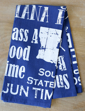 Louisiana Life Hand Towel