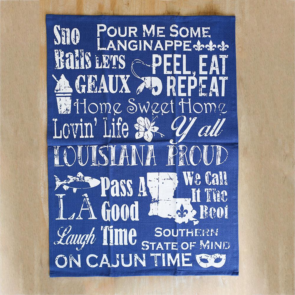 Louisiana Life Hand Towel