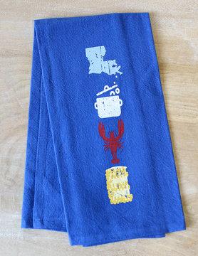 Crawfish Love Hand Towel