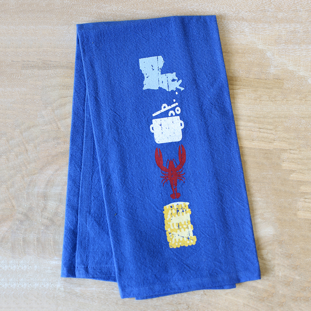 Crawfish Love Hand Towel