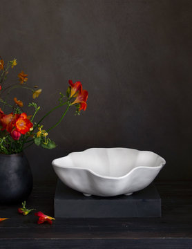 VIDA Nube Bowl MD - White