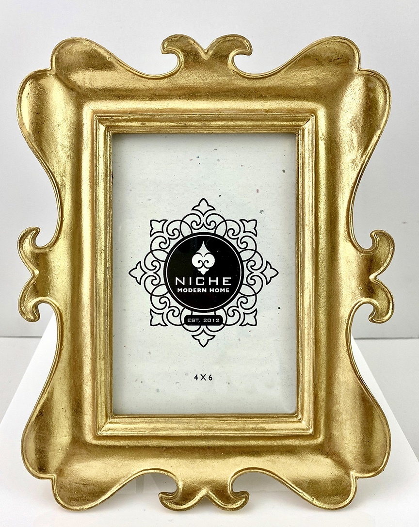 Flourish Gold Leaf Frame 4x6