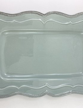 14x9 Light Blue Serving Tray