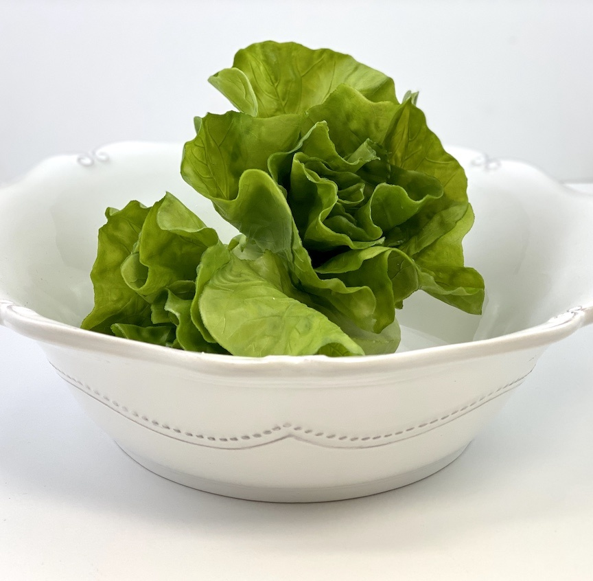 "13"" White Serving Bowl"