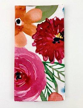 "Floral Napkin 20"""