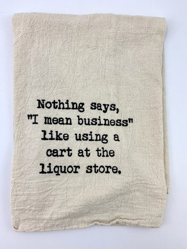 Liquor Store Tea Towel