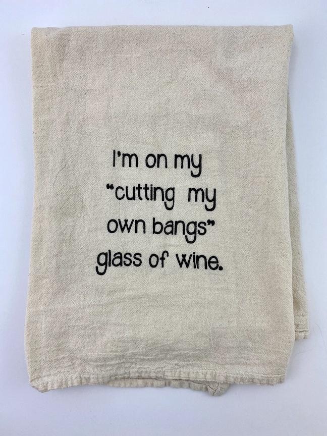 Bangs Tea Towel