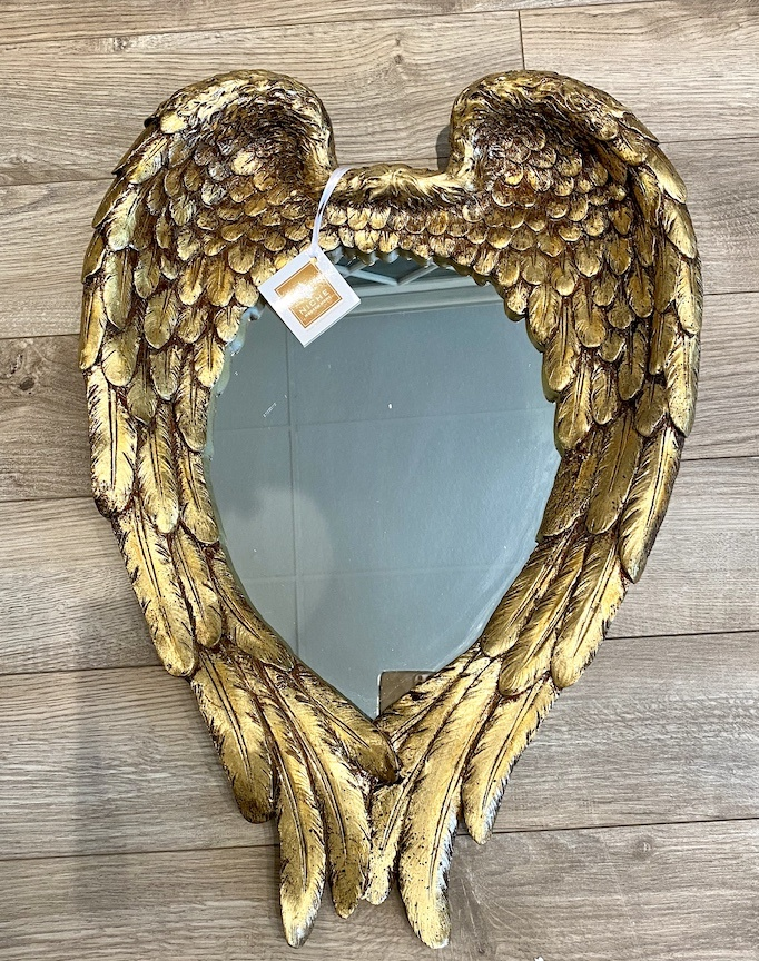 "Angel Wing Mirror 15.5"" x22"""