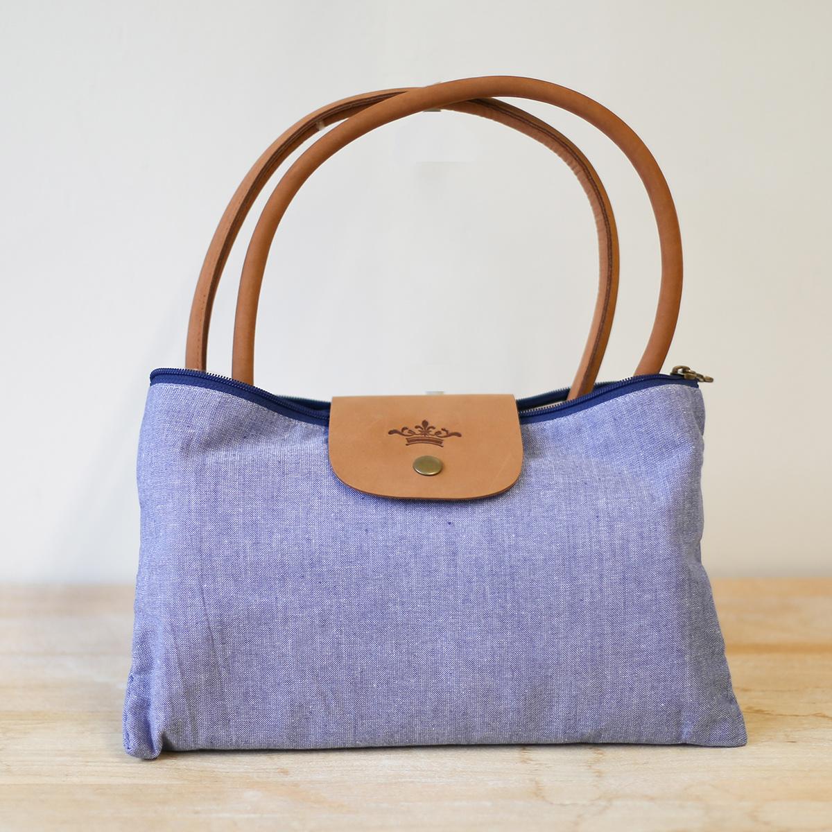 Blue Overnight Bag