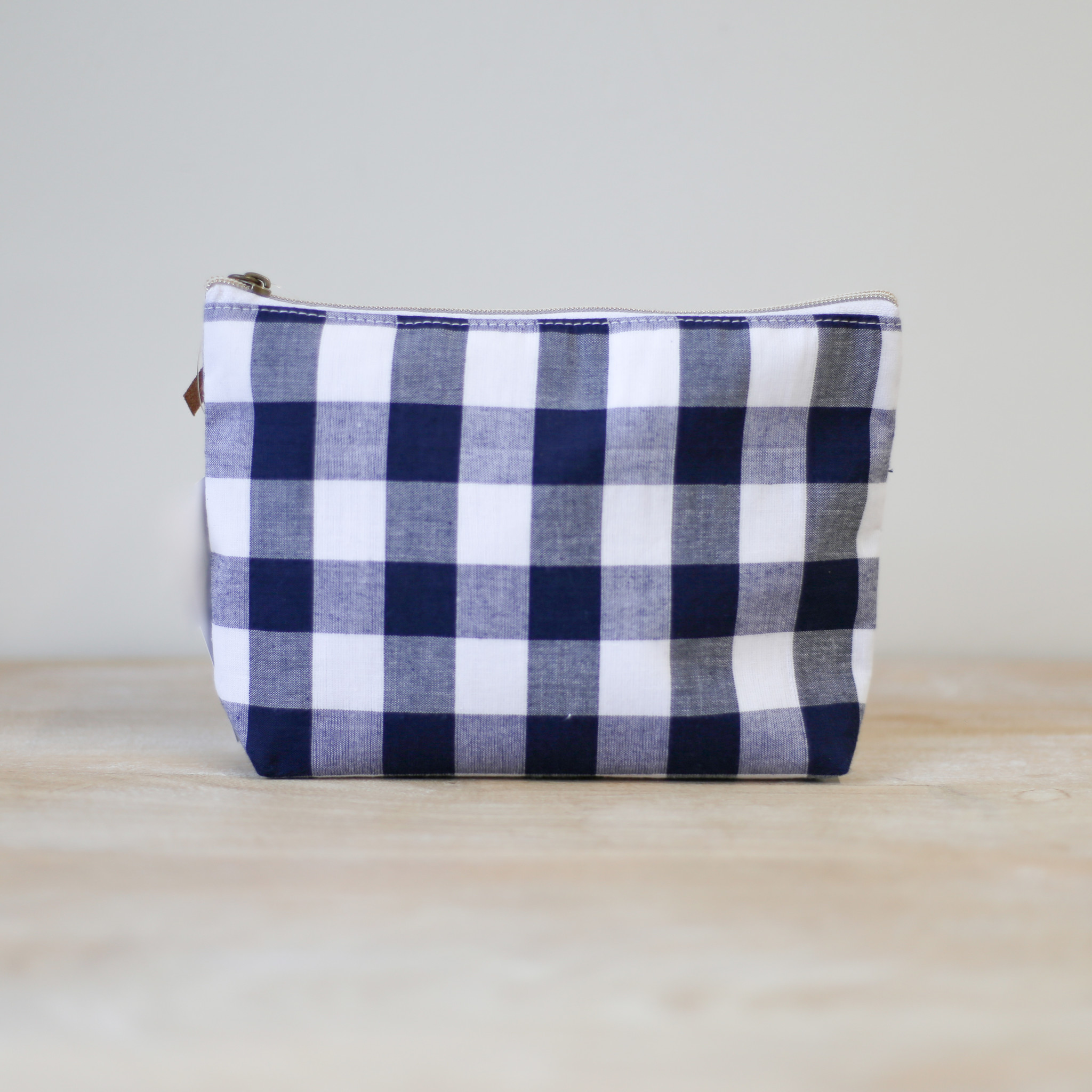 NAVY/WHT Cosmetic Bag
