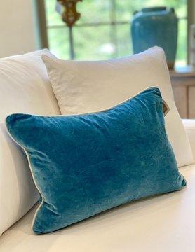 14x20 Marine Velvet Pillow