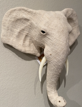 Cotton Elephant Head