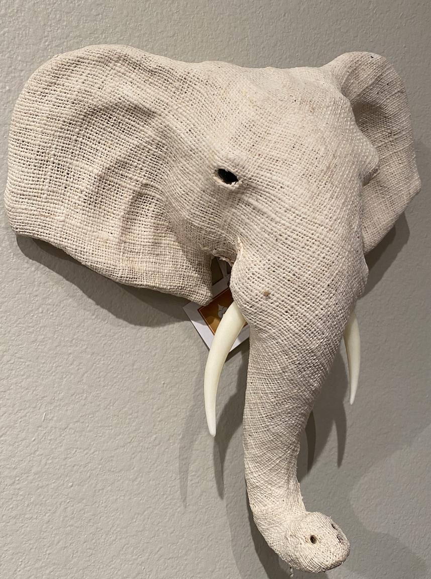 Cotton Elephant Head