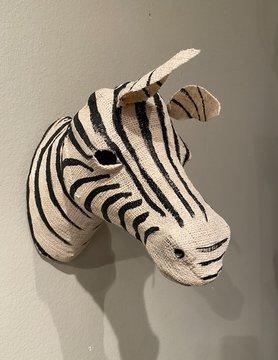 Cotton Zebra Head