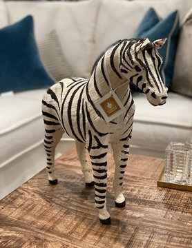 Cotton Zebra 24""