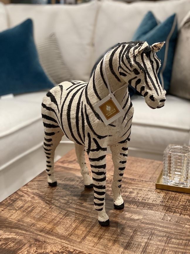 """Cotton Zebra 24"""""""
