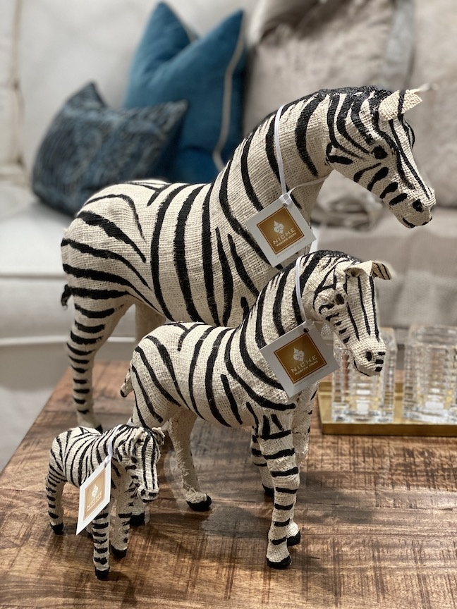"""Cotton Zebra 15.5"""""""