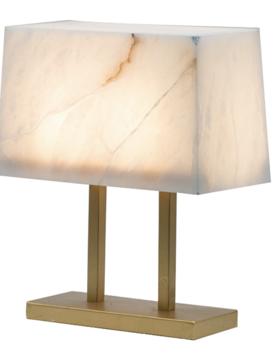 Marble Shade Lamp