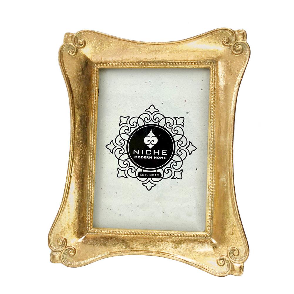 Flourish Gold Leaf Frame 5x7