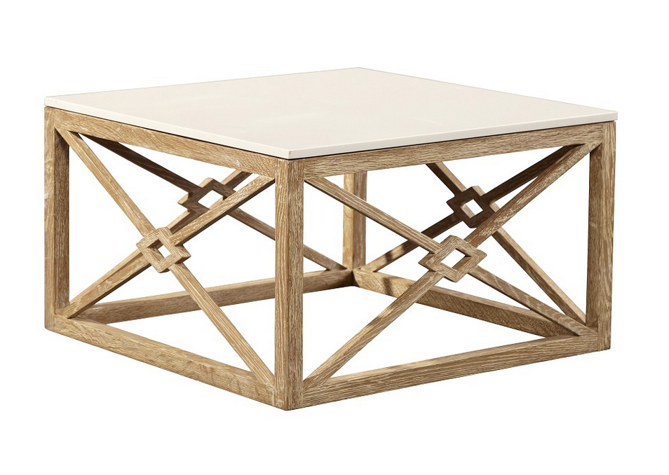Edwin Marble Top Cocktail Table