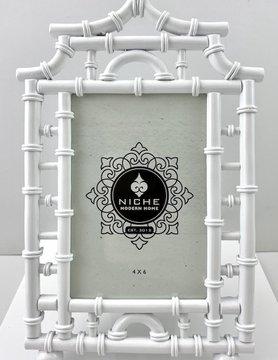 White Pagoda Frame 4x6