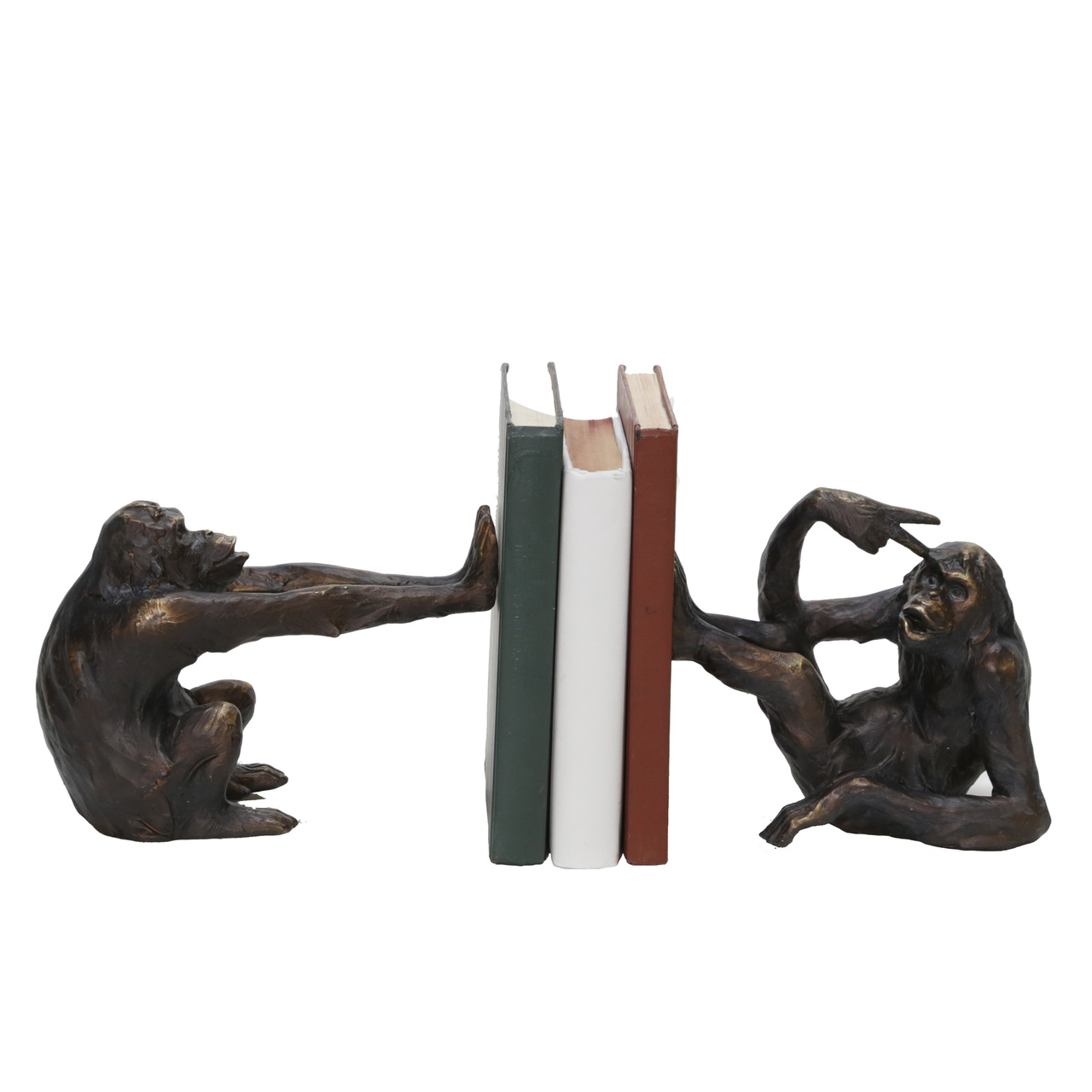 Silly Monkeys Bookends