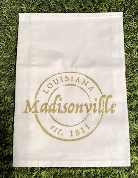 Madisonville Stamp Tea Towel