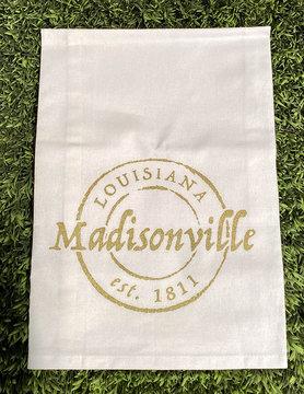 Madisonville Stamp Tea Towel