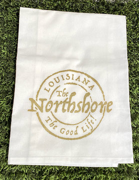 Northshore Stamp Tea Towel