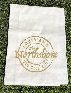 Northshore Stamp Tea Towel