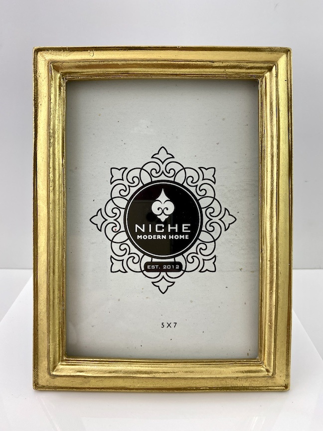 Classic Gold Leaf Frame 5x7