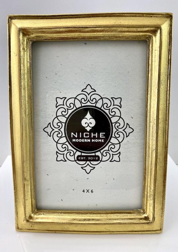 Classic Gold Leaf Frame 4x6