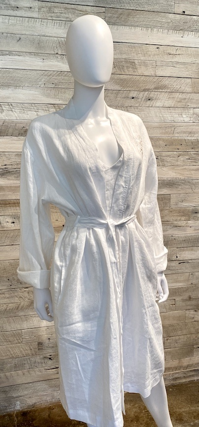 Margot Robe WHITE SM/MD