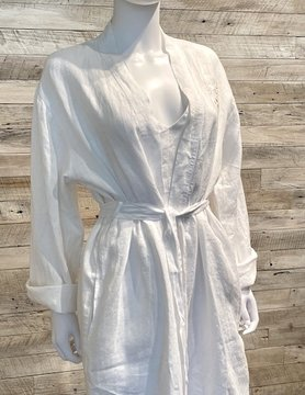 Margot Robe WHITE LG/XL